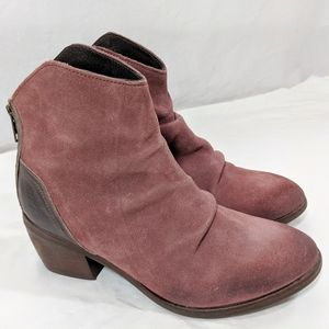 Rebels 'Nora' Contrast Ankle Boots